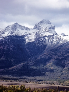 Cold & Foreboding Grand Teton