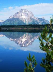 Mt Moran & Jackson Lake